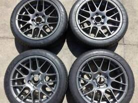 205x45 R17 alloys with tyres
