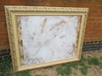 STUNNING GILT FRAMED PICTURE OF A CLASSICAL LADY
