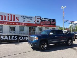 2015 GMC Sierra 1500 Denali 6.2L Short Box Crew Cab Bluetooth Wi