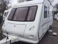 2006 Elddis Sunseeker 484 Well looked after fixed end bedroom caravan