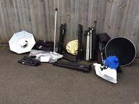 Various studio equipment