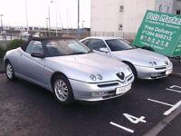 ALFA GTV 3Ltr £2650 & 2Ltr SPIDER £1350