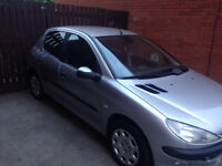 Peugeot 206 FOR SALE (private plate)