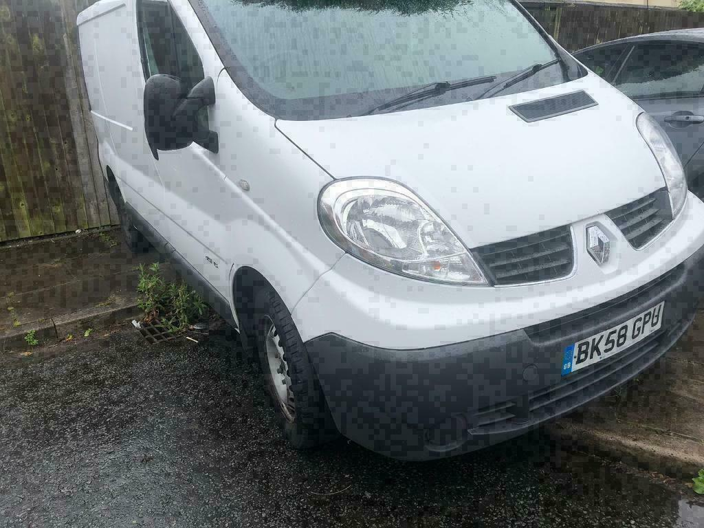 2008 58reg Renault Trafic 2 0 Dci 115 Sl27 White Spares Or