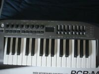 EDIROL ( ROLAND) MIDI CONTROLLER IN AS NEW CONDITION, USED ONCE , BOXED WITH ALL ACCESORIES