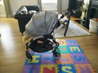 Bugaboo Bee with Kaiser wool cocoon