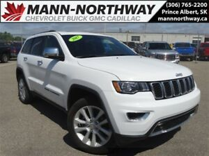 2017 Jeep Grand Cherokee Limited   Navigation, Sunroof, Remote S