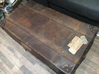 Gorgeous vintage storage trunk 1920's