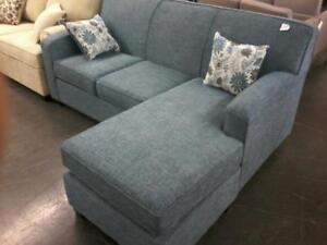 Sofa Bed Sectional with Accent Pillows Regular $1899 Now $999.  Tax free until Labor Day.