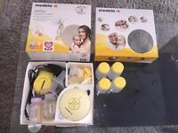 Medela Swing Electric Breast Pump With Calma & Extras