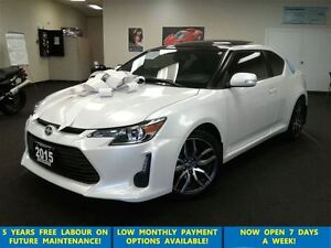 2015 Scion tC Prl White Pano Roof/Alloys/Btooth &GPS