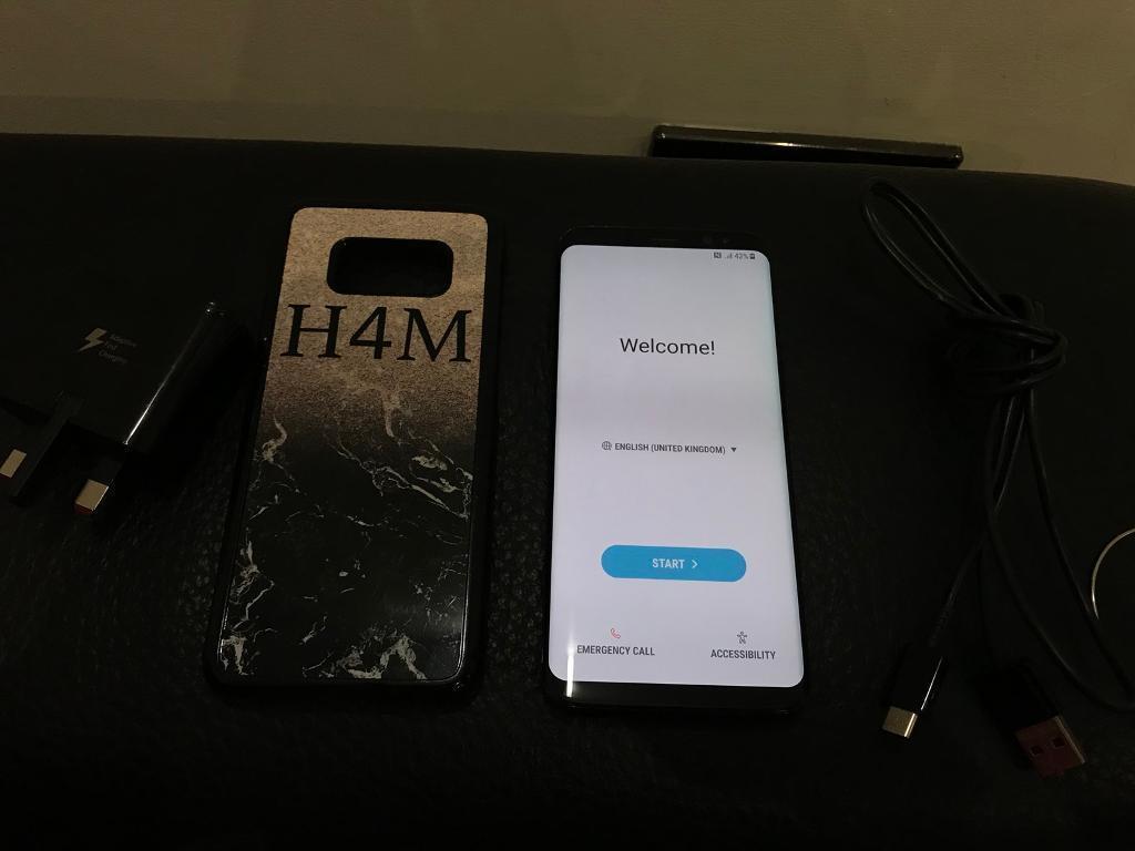 Samsung galaxy s8 mint condition unlocked