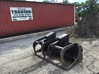 2006 Bobcat 60 Industrial Heavy Duty Grapple For Skid Steer Loaders