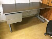 Really solid high quality office desk with drawers (3 available / £30 each)
