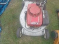 Petrol lawnmowers wanted . Non runners etc . Cash paid on collection. Please send a picture