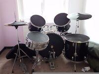 Full size Hohner Lex drum kit