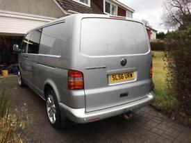 Volkswagen VW Transporter T5 Window Van LWB No VAT