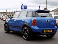 MINI COUNTRYMAN 1.6 COOPER D 5dr **Full Service History ** (blue) 2011