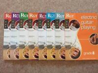 RGT Electric guitar grade books 1 to 8