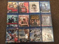 Blu-Ray DVDs Movie Bundle x 12 BNIP