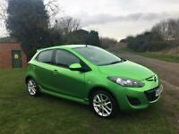 MAZDA 2 1.3 TAMURA, 1 Former Keeper, MOT March 2019, Looks and drives superb (green) 2011