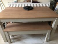 Shabby chic NEXT dining table
