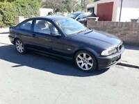 ++++QUICKSALE WANTED BMW 318 COUPE+++FULL LEATHER FRESH 1 YEAR MOT+++