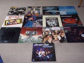 Collection of Status Quo vinyl LP's