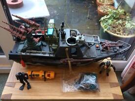 Large Marine Toy Boat