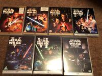 DVD - Star Wars 1, 2, 3, 4-6 Collection