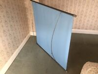 RETRO Boots projector screen 40x40, Simplex made by Fin in Italy!