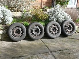 4 x good quality 185/65 R15 Dunlop tyres for sale