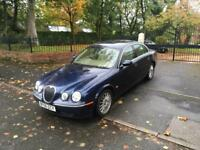 2006 JAGUAR S-TYPE SE 2.7 TWIN TURBO DIESEL AUTOMATIC MOT 5/18 FULL SERVICE HISTORY SAT NAVIGATION