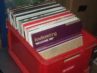 """130 x 12"""" Vinyl Records Job Lot. 90's Dance / Trance / Euro / Promo's/ House"""