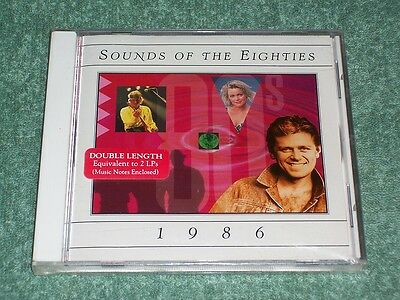 BRAND NEW TIME LIFE SOUNDS OF THE EIGHTIES 1986 CD