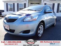 2012 Toyota Yaris 4-Door $104.55 BI WEEKLY!!!