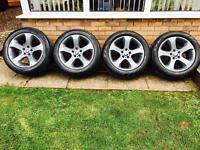 """BMW X5, X3 Genuine 19"""" Alloy Wheels, Alloys"""