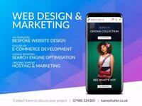 Web design, development and SEO from £145 - UK website designer & developer
