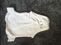 Baby white vests