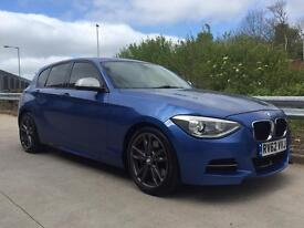 BMW M135I AUTOMATIC 62REG ESTORIL BLUE FULL LEATHER TOP SPEC MUST SEE**