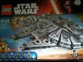 Lego 75105 star wars millennium falcon bnib