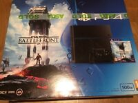 Playstation 4 console and 4 games