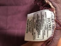 Laura Ashley king sized bed throw