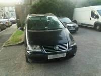 2008 Volkswagen Sharan 1.9 Turbo Diesel 7 Seater Minibus Tax and Mot £995 ono