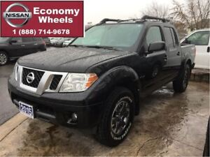 2015 Nissan Frontier PRO-4X - Leather