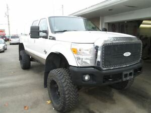 2011 Ford F-250 XLT leather lifted BIG DIESEL POWER