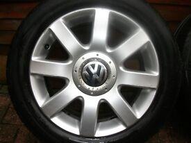 Original Vw MK5 Golf alloys wheels
