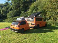 Mazda bongo camper 1997, plus matching trailer