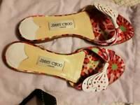 Jimmy Choo flat sandals 38 1/2