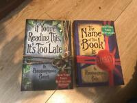 2 books by pseudonymous bosch